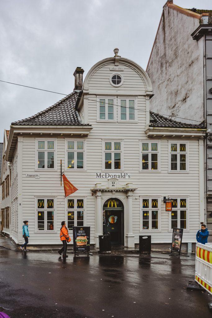 Jedzenie w Norwegii