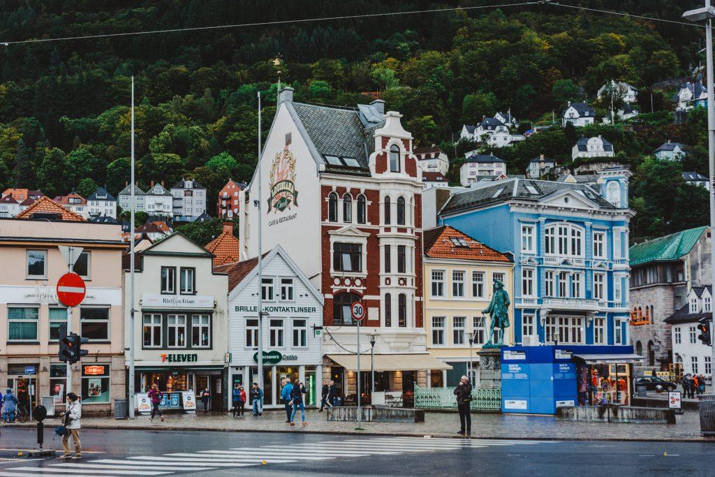 Bergen centrum miasta