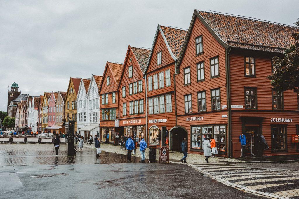 Bryggen w Bergen