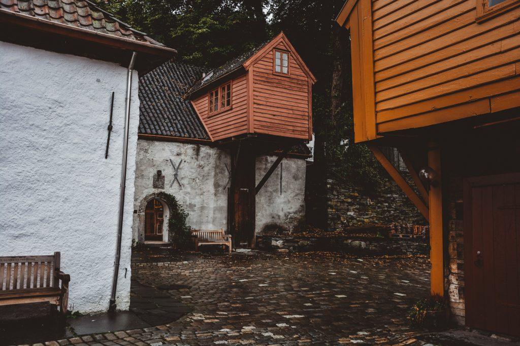 Bryggen w Norwegii