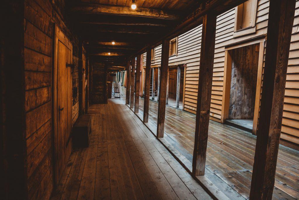 Wnętrze Bryggen