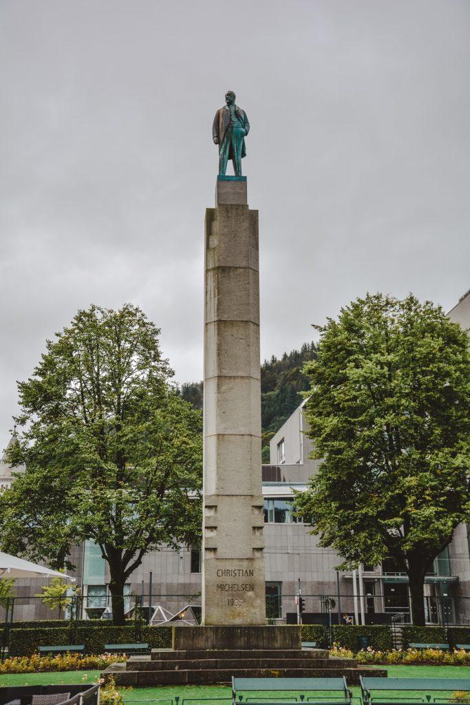 Christian Michelsen pomnik