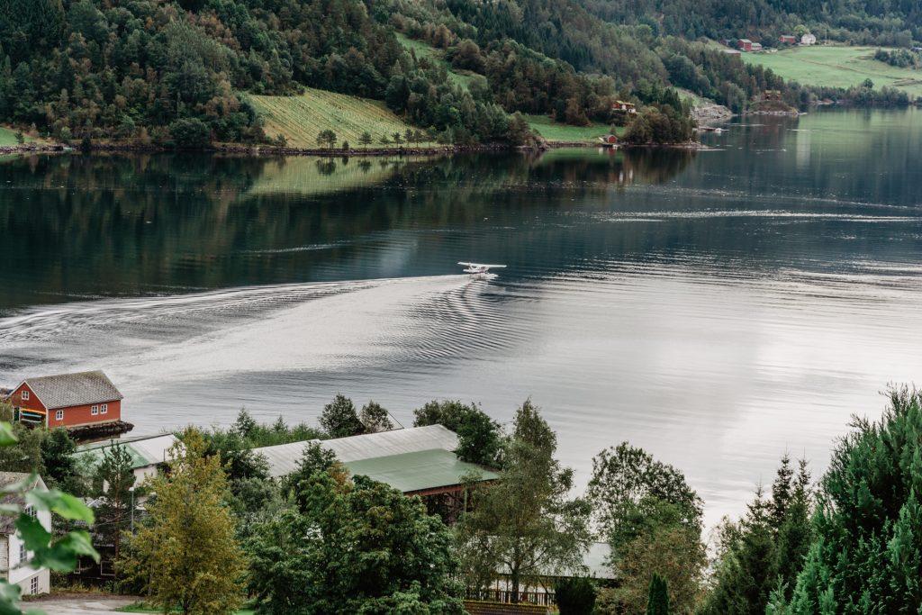 fiordy w norwegi