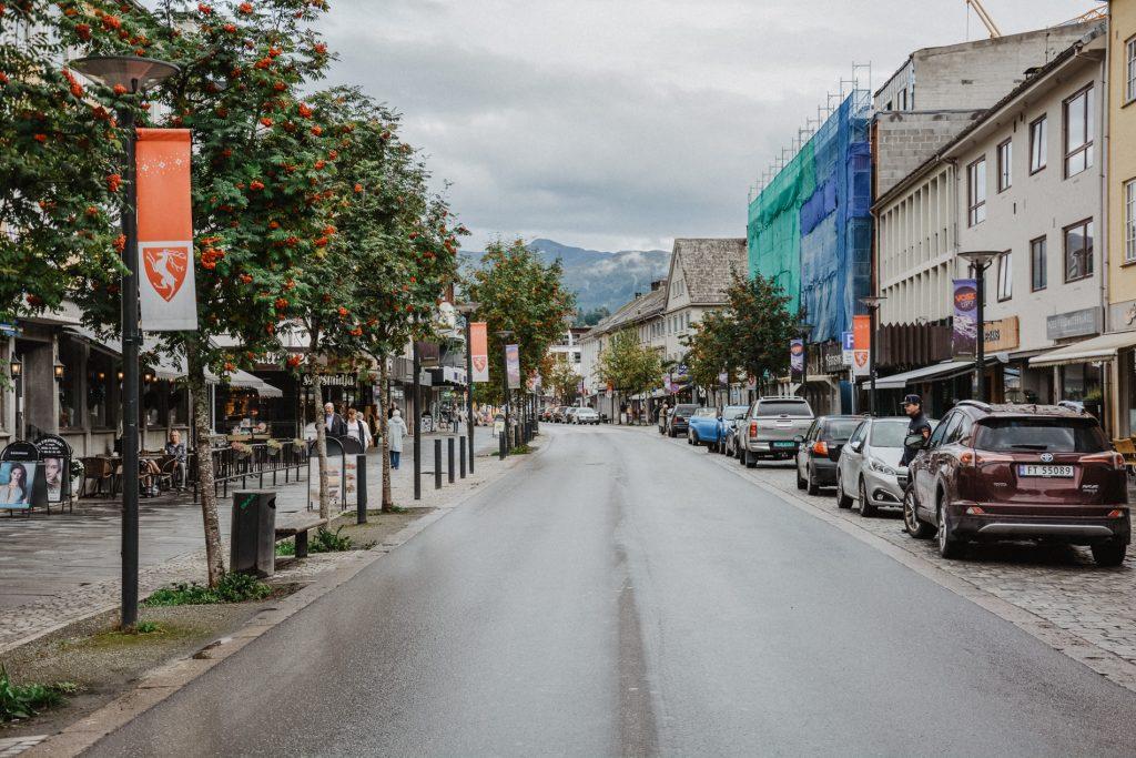 Miasto Voss w Norwegii