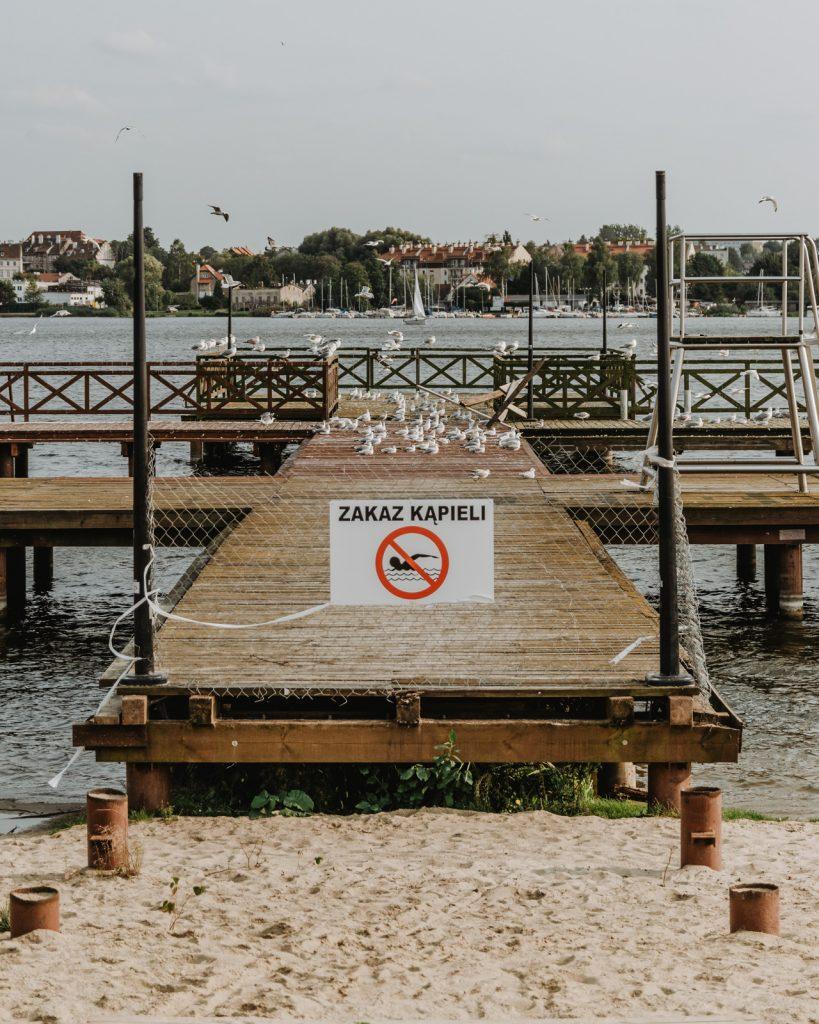Plaża w Ostródzie