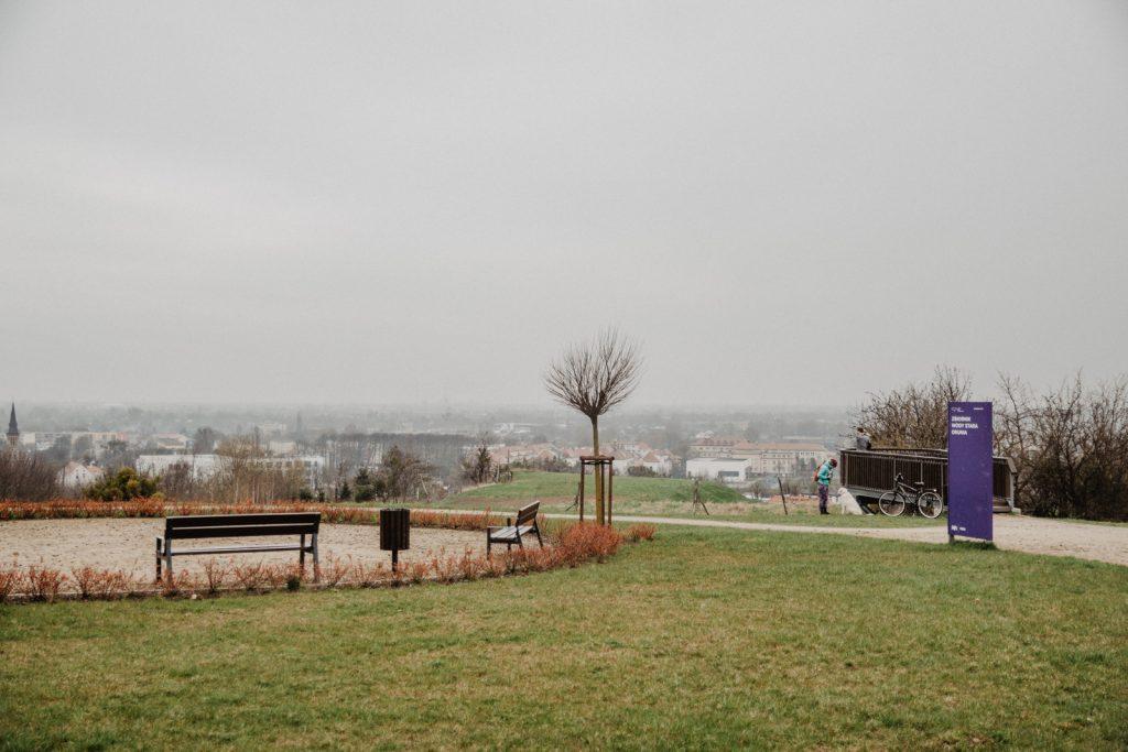 Zbiornik Wody Stara Orunia. Widok na Gda?sk