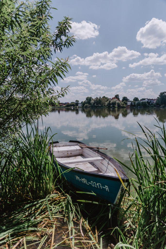 Jezioro w Sztumie. Sztum.