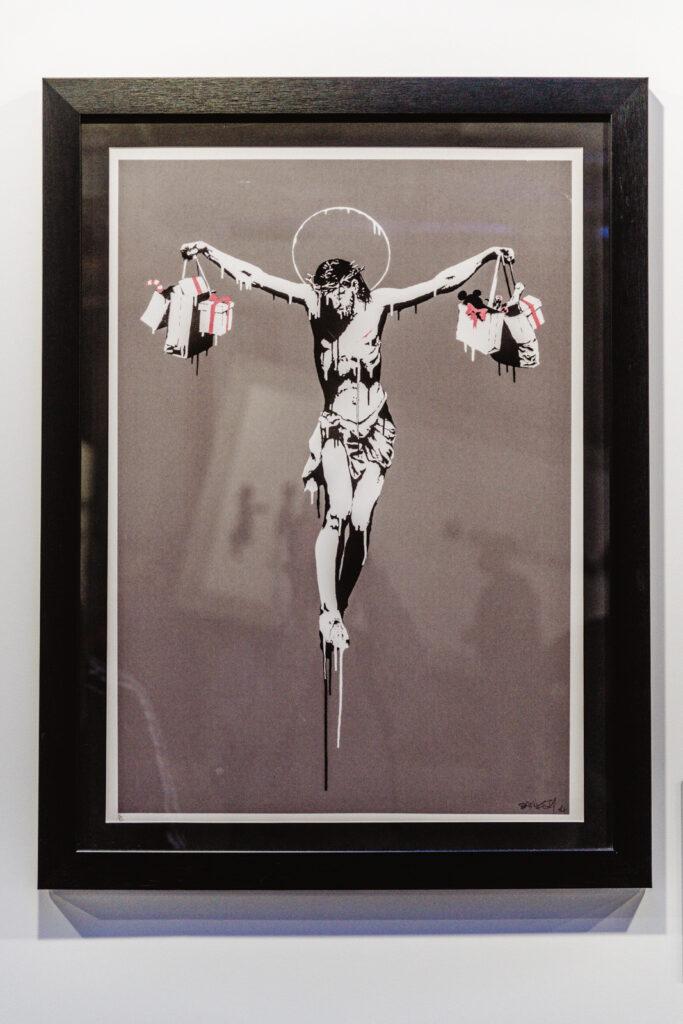 Kim jest Banksy, Jezus, Jesus