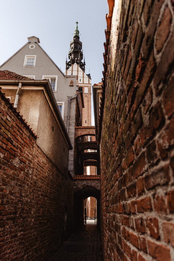 Katedra św. Mikołaja w Elblągu, Ścieżka Kościelna