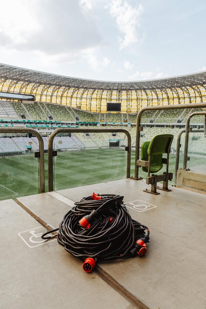 Zwiedzanie Stadionu Gdańsk, Polsat Plus Arena Gdańsk