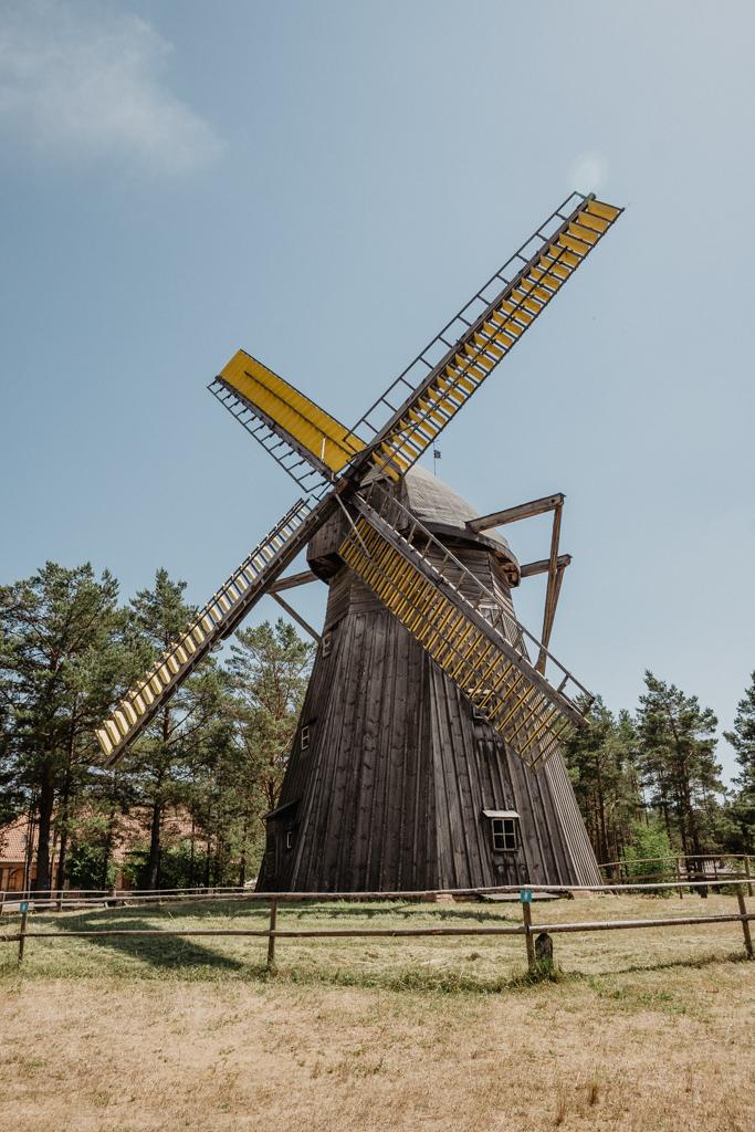 Muzeum Wdzydze, Wiatraki we Wdzydzach